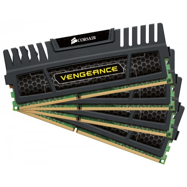 Memorie kit 16 GB (4 x 4 GB), DDR3, dual channel, 1600 MHz