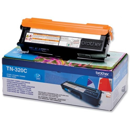 Toner laser Brother TN320C, cyan, 1500 pag, HL4150 / 4570
