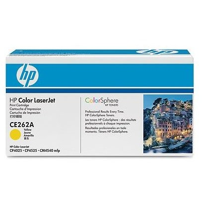 Toner laser HP CE262A - yellow, 11.000 pag, CP4525