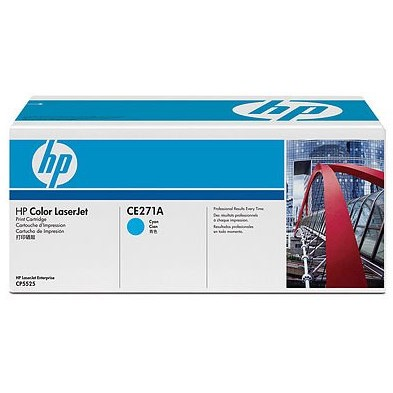 Toner laser HP CE271A - cyan, 15.000 pag, CP5525