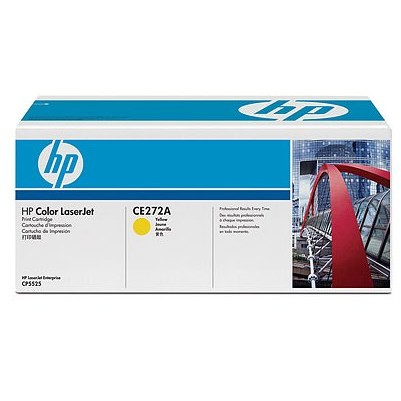 Toner laser HP CE272A - yellow, 15.000 pag, CP5525