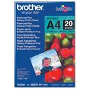 Hartie foto Brother BP71GA4 Premium Plus - A4, lucioasa, 20 coli