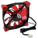 Ventilator Inter-Tech CobaNitrox Extended N-120-R 120mm Red LED