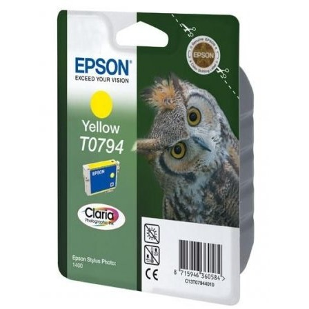 Toner color Epson T0794, Yellow, Claria Ink