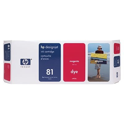 81 Magenta Ink Cartridge (C4932A) thumbnail