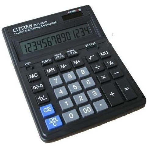 Calculator de birou SDC-554S, 14 digit thumbnail