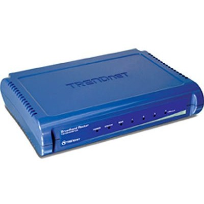Router TW100-S4W1CA - Broadband 10/100 Mbps DSL/CABLE, 4 port switch