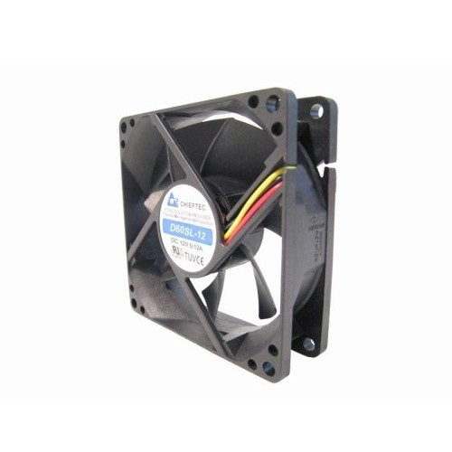 Ventilator CHIEFTEC AF-0825PWM - 80mm, 3000rpm