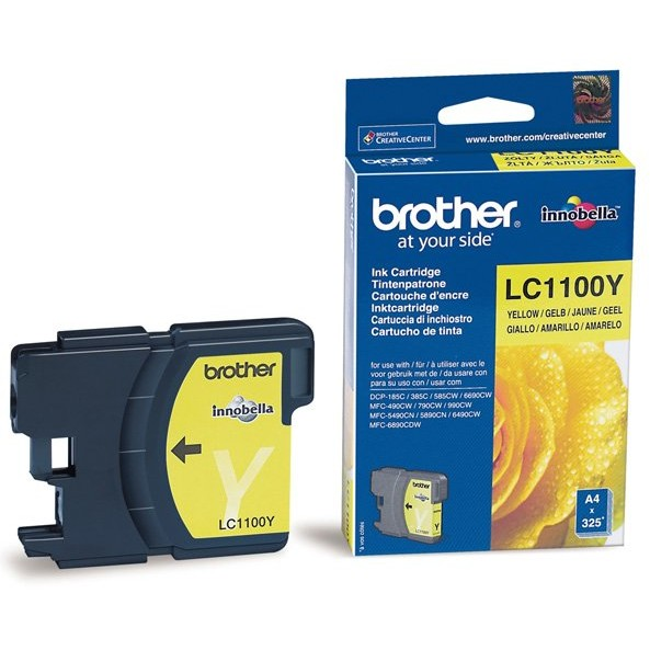 Toner LC1100Y - Yellow, DCP 6690CW, DCP 6490CW thumbnail