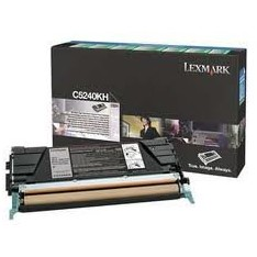Toner Lexmark pt C524, C534, Black, 8.000 pages