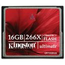 Card memorie Kingston CompactFlash Ultimate 16GB ( CF/16GB-U2 ) - 266x