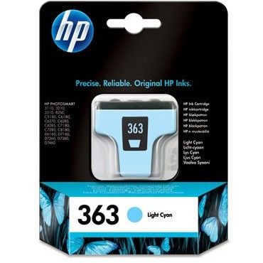 Toner HP 363 ( C8774EE ) - 220 foto, Vivera Ink, Light Cyan thumbnail