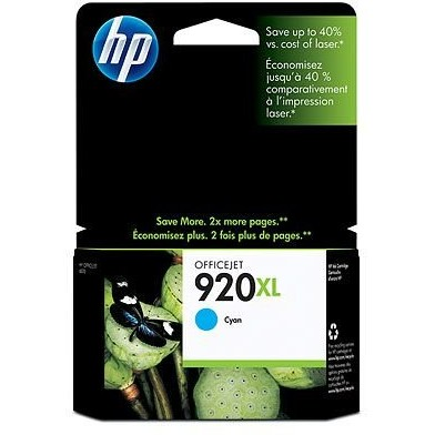Toner HP 920XL ( CD972AE ) - 700 pagini, Cyan thumbnail