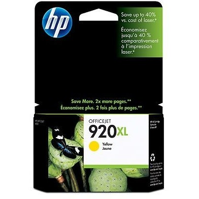 Toner HP 920XL ( CD974AE ) - 700 pagini, Yellow
