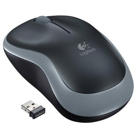 Mouse M185, optic wireless, 1000dpi, negru