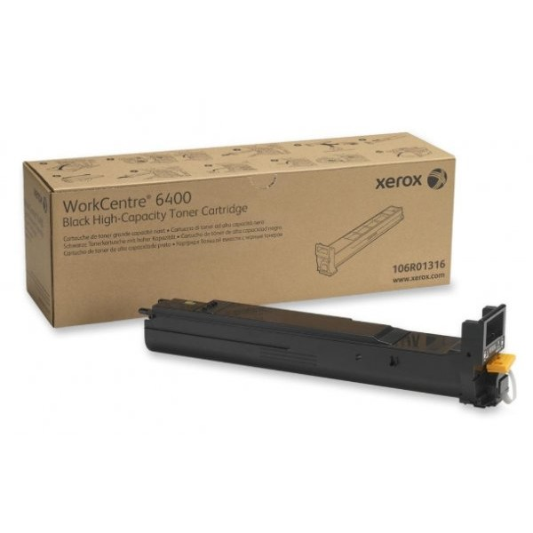 Toner laser Xerox 106R01316, Negru 12.000 pag, WorkCentre 6400
