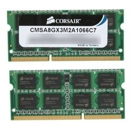 Memorie laptop notebook 8GB, DDR3, 1066MHz, CL7 Dual Channel Kit for Apple/Mac