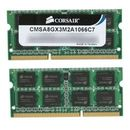 Corsair notebook 8GB, DDR3, 1066MHz, CL7 Dual Channel Kit for Apple/Mac