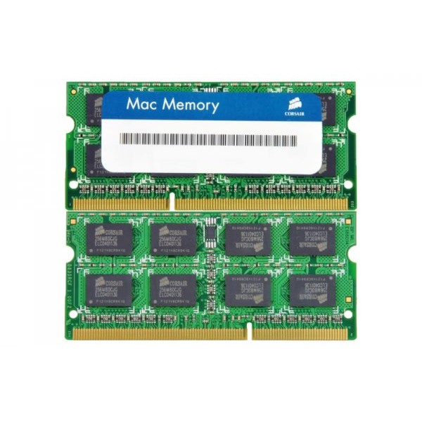 Memorie laptop notebook Kit 2x4GB, DDR3, 1333MHz CL9 Dual Channel Kit for Apple/Mac thumbnail