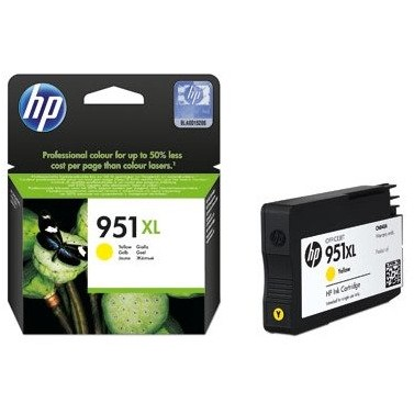 Toner inkjet HP 951XL yellow, 1500 pagini