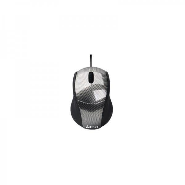 Mouse N-100-1 V-track Padless USB Carbon