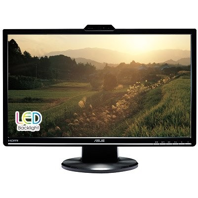 Monitor LED VK248H, 24 inch, 1920 x 1080 Full HD, Webcam