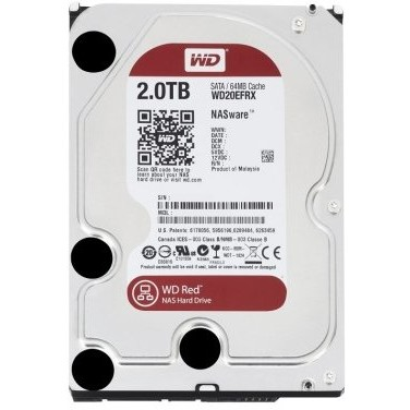 Hard disk Red 2TB, SATA3, 5400rpm, 64MB