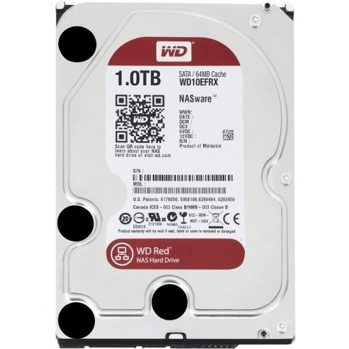 Hard disk Red 1TB, SATA3, 5400rpm, 64MB