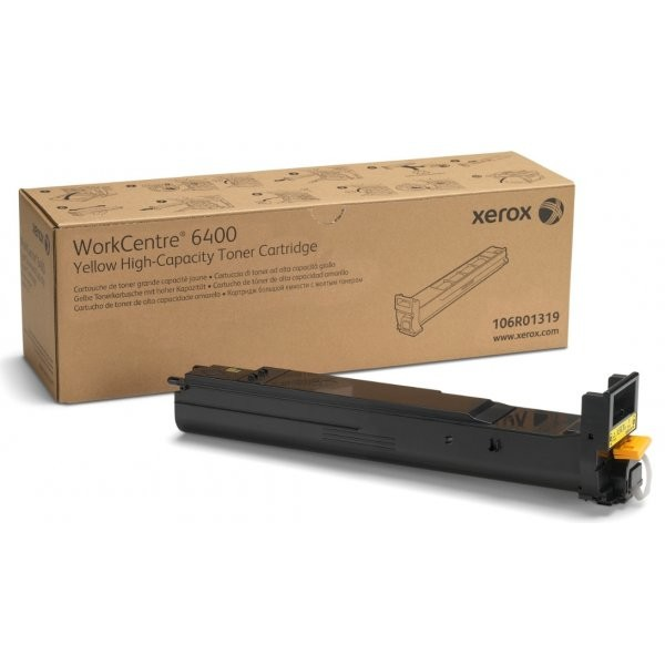 Toner laser Xerox 106R01319, Yellow 14.000 pag, WorkCentre 6400