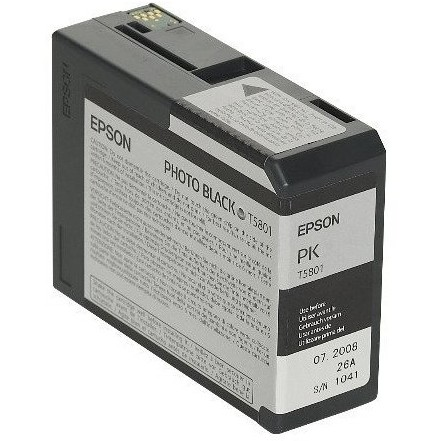 Toner inkjet Epson T5801 photo black, 80ml