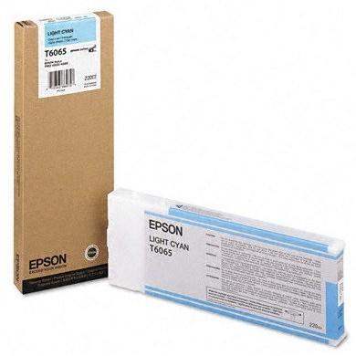 Toner inkjet Epson T6065 light cyan, 220ml