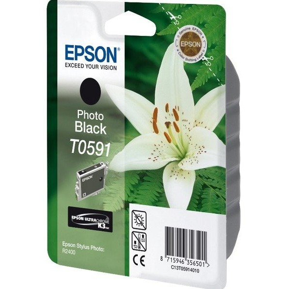 Toner inkjet Epson T0591 photo black, 13 ml