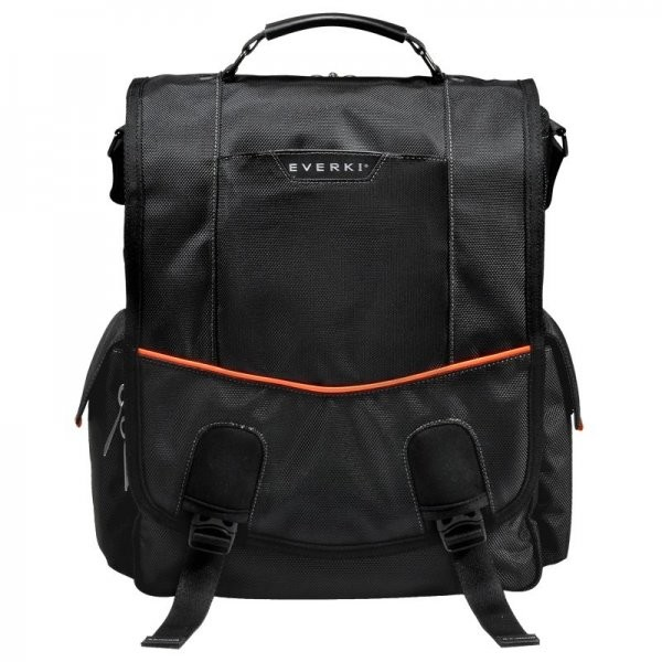 Geanta Laptop Everki Urbanite Vertical Messenger, 14.1 inch, Negru