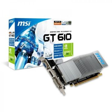 Placa video MSI GeForce GT 610, 2GB, DDR3, 64-bit HDMI