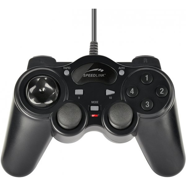Gamepad cu fir SpeedLink Thunderstrike, USB thumbnail