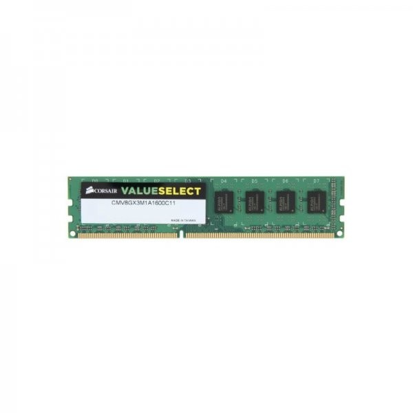 Memorie CMV8GX3M1A1600C11 , Value Select 8GB DDR3 , 1600MHz , CL11