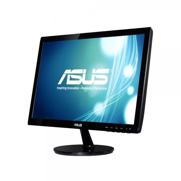 Monitor LED VS197DE, 18.5 inch, 1366 x 768 px, negru