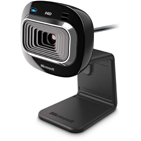 Camera web LiveCam HD-3000, neagra, USB