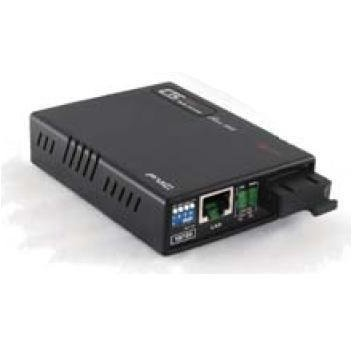 Media convertor ( FMC-10/100W-SC80B ), FE la FO, SIngle-Mode, WDM B, 80Km