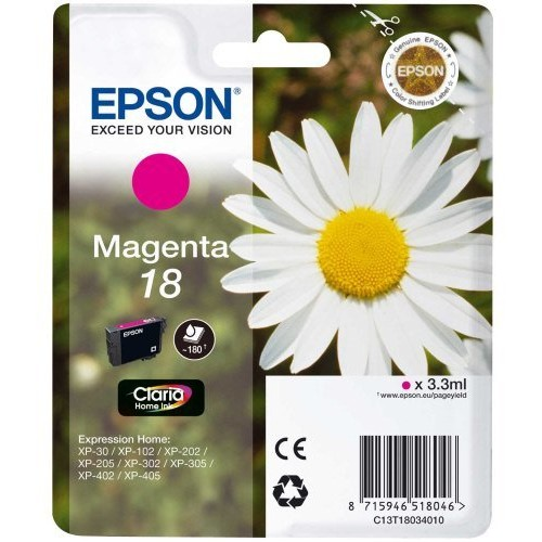 Toner color Epson 18, Magenta