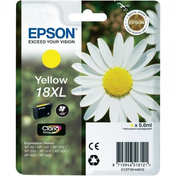 Toner color Epson 18XL, Yellow