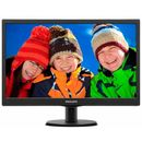 Monitor LED Philips 193V5LSB2, 18.5 inch, 1366 x 768 px, Negru