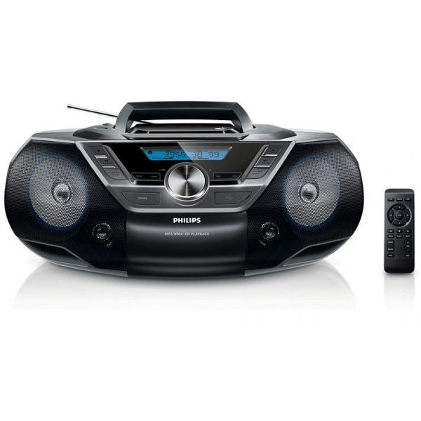 Microsistem audio Philips AZ780/12, 2W, negru thumbnail