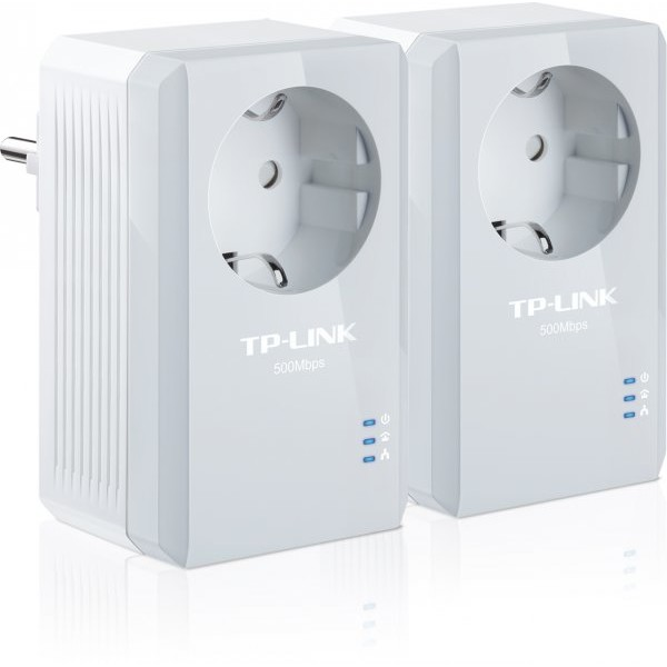Adaptor PowerLan TL-PA4010PKIT, 500 Mbps, Set 2 adaptori thumbnail