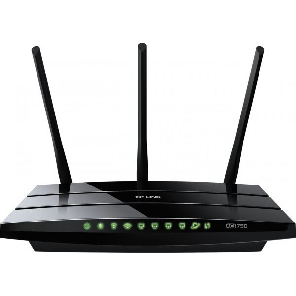 Router wireless ARCHER C7, Dual Band, AC 1750Mbps USB Negru