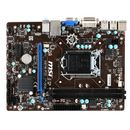 Placa de baza MSI H81M-P33, Socket LGA 1150, Chipset Intel H81