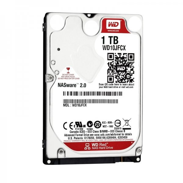 HDD Laptop Red 1TB SATA3 16MB thumbnail