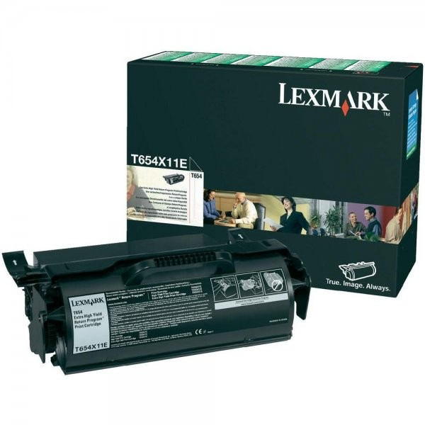 Cartus Return Program Lexmark T654X11E, 36.000 pag thumbnail