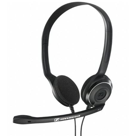 Casti PC 8-USB Headset, negre