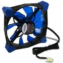 Ventilator Inter-Tech CobaNitrox Extended N-120-B 120mm Blue LED